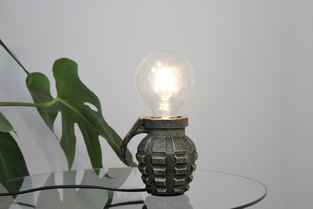 The Housevitamin Grenade Lamp