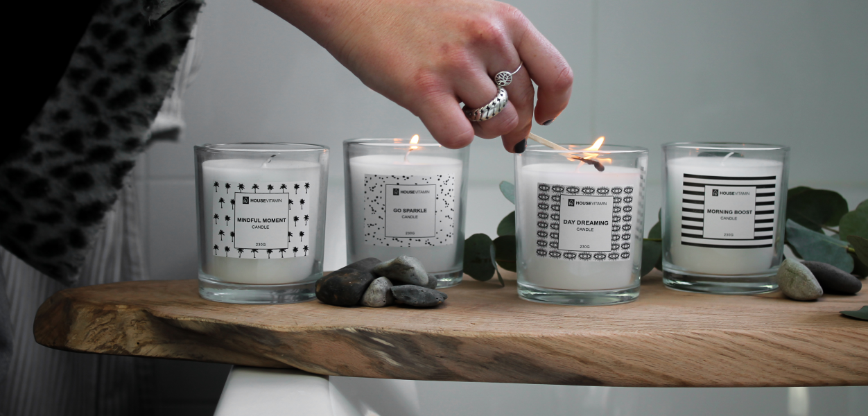 lovely scented candles